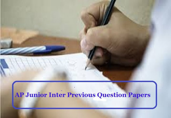 AP Junior Inter Previous Question Papers