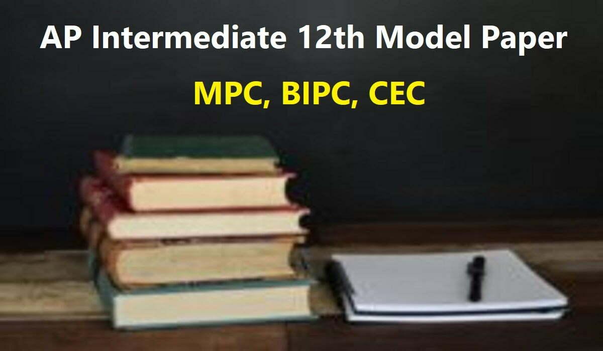 AP Intermediate 12th Model Paper 2020